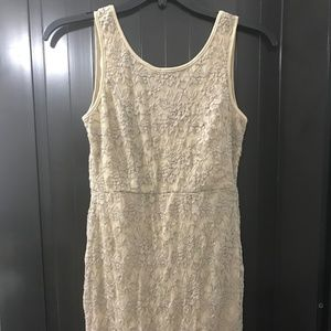 Timing Bow Dress Size M